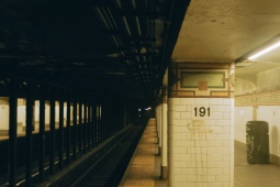 191st Street Station on the 1 line