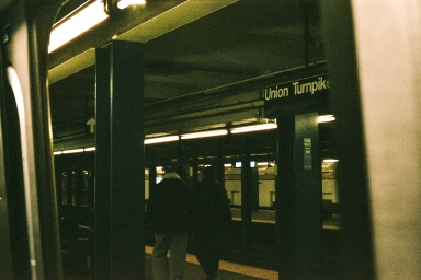 Union Turnpike Station on the E/F/M/R line