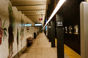 163rd Street Station on the A/C line
